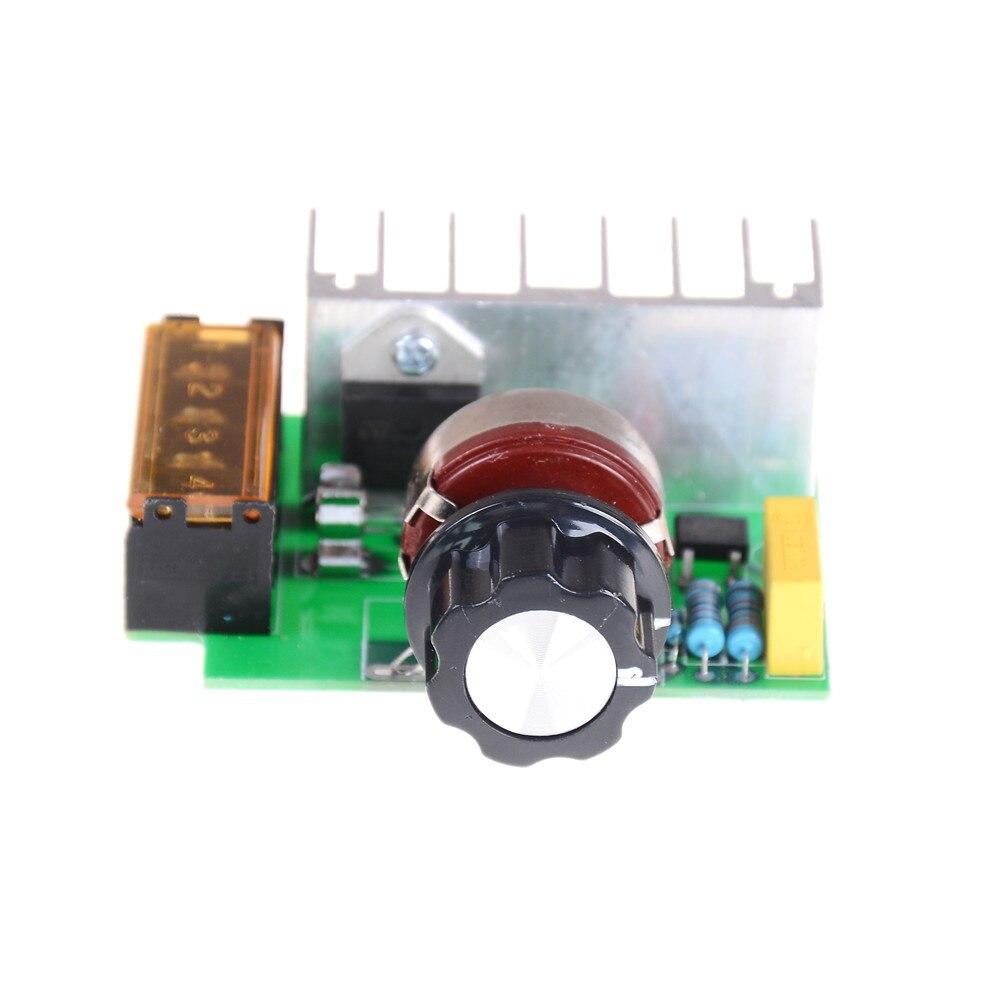 Ac 220 v 4000 w scr dimmer promoção! Regulador de tensão controlador de velocidade de tensão