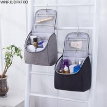Tela Oxford viajes organizador bolsa mujeres Unisex cosméticos bolsa de maquillaje de viaje bolsas de lavado maquillaje Kits bolsas de almacenamiento