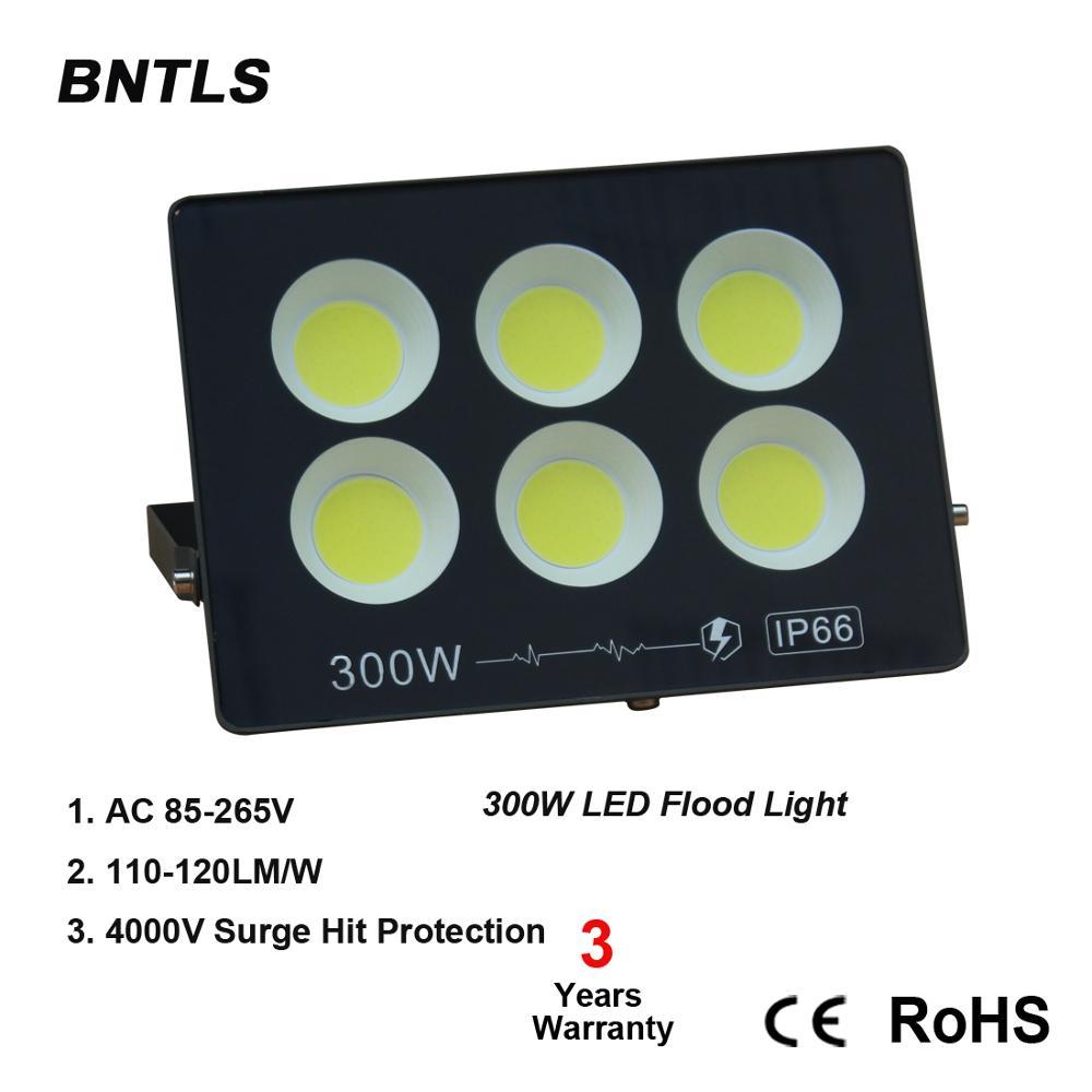 LED Flood Light,110V/220V Outdoor Led Flood Light with 180degree Adjustable Bracket 6000K  for Garage, Garden, Lawn and Yard.