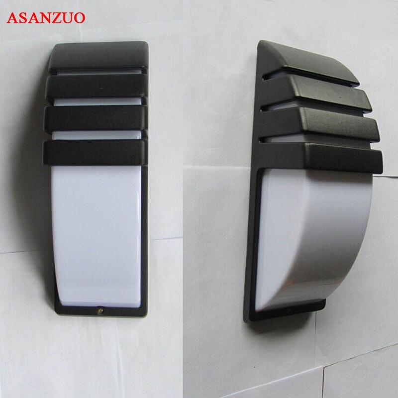 AC85-265V LED الشرفة ضوء 7W/10W شنت جدار ينج الداخلية والخارجية جدار مصابيح الممر حديقة ساحة الطريق مسار بقعة ضوء IP65