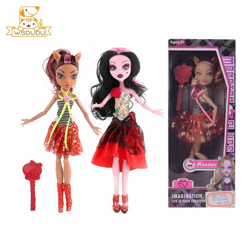 Monster Teufel Hohe Mädchen Puppen Geist BJD Baby Silizium Mode Dame Pädagogisches Ball Gelenk Körper Halloween Für Kid Kinder Geschenk