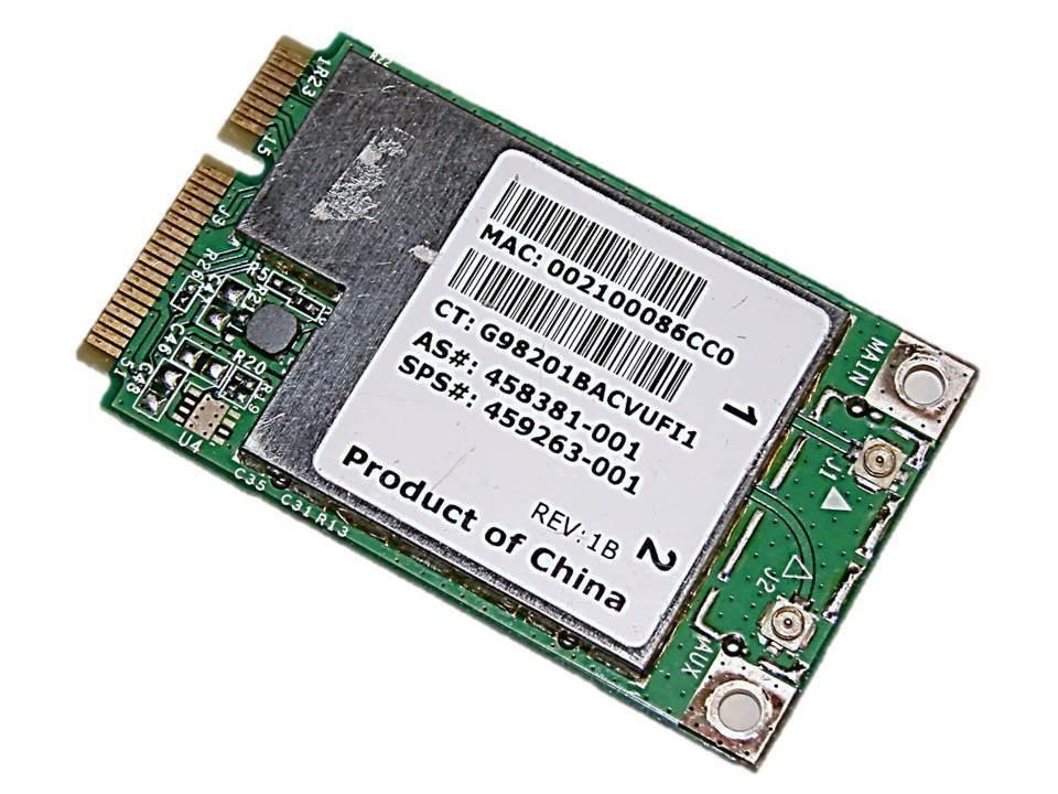 Tarjeta adaptadora inalámbrica para Broadcom BCM94312HMG bcm4312 Wifi mini PCI-E tarjeta BCM4312 PCI-E WLAN para HP Sps 459263-001
