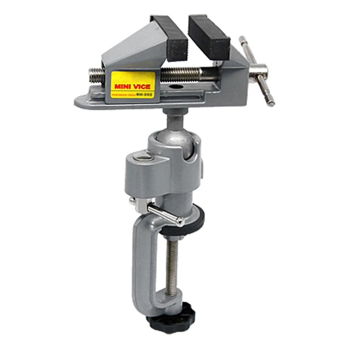 Настольная тиска, зажим, тиски, держатель для шлифовки, подставка для вращающегося инструмента, ремесла, моделирования, электроники, хобби