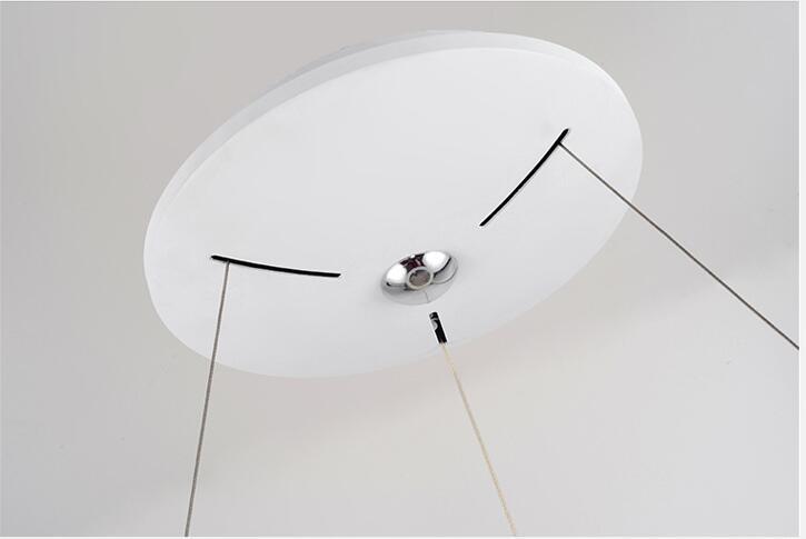 LED 50W 80CM ring hight 12cm Pendant Light Modern Design/ LED Ring Special for office, Showroom, LivingRoom  - buy with discount