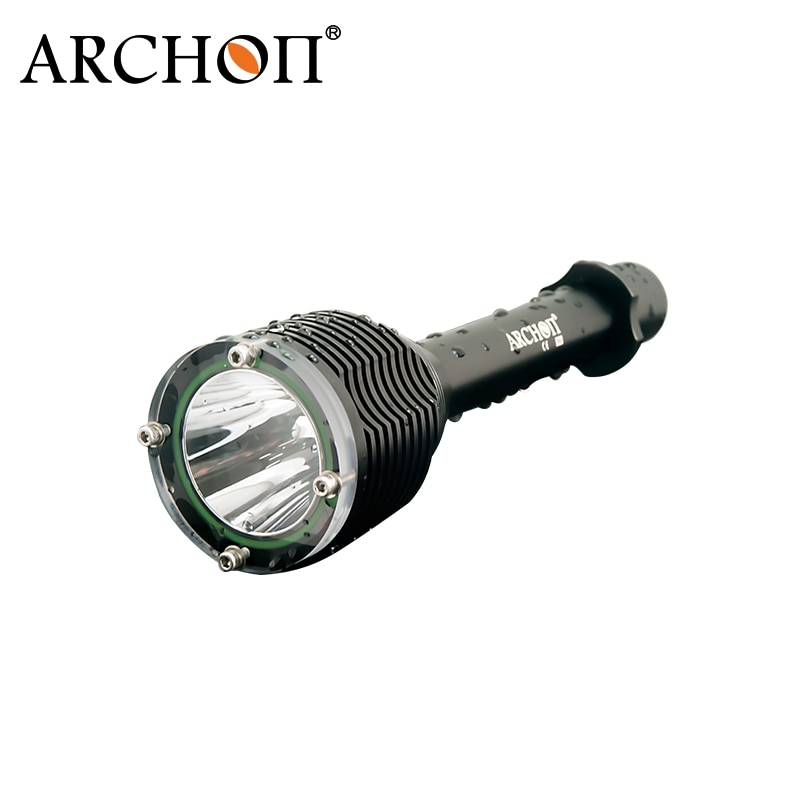 ARCHON mergulho luz D20 T6 W26 Cree XM-L 1000 Lumen alumínio à prova d' água debaixo d' água 100 metros de Mergulho Profissional Lanterna
