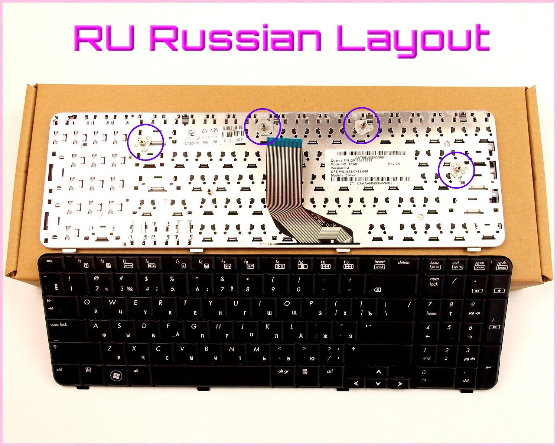 New Keyboard RU Russian Version for HP/Compaq CQ61-313AX CQ61-313 CQ61-306TU CQ61-407ca CQ61-303XX CQ61-314US  Laptop