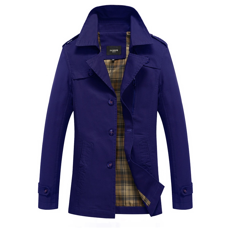 Free shipping men jacket 2019 Spring and Autumn new mens jackets thin cotton casual mens coat black khaki