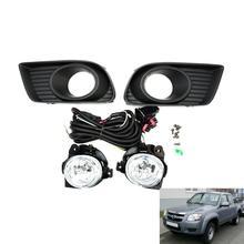 Jandelling pour feux frontaux transparents   Kit complet avec harnais pour Mazda Bt50 4 2009- 2011