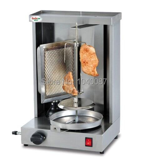 DC-G1 shawarma machine gas kebab machine,gas bbq machine, gas gyros grill,one burner gas stove