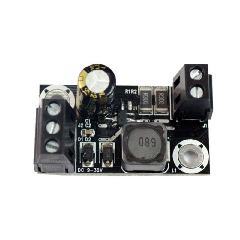 Placa de controlador de corriente constante PT4115 9-30V entrada 800ma LED DC-DC Módulo de corriente constante descendente