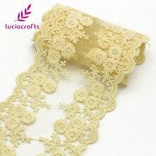 Artisanat Lucia tissu dentelle de garniture 1ans/lot   12.5cm, rubans pour robe de mariée, matériel de couture, fourniture, N0402