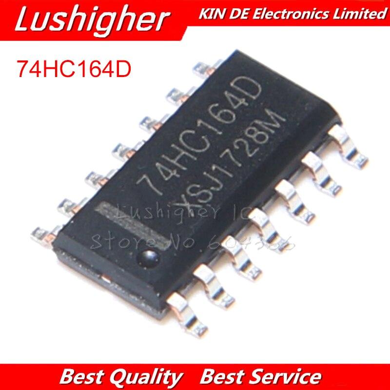 100 Uds 74HC164D 74HC164 SOP8 SN74HC164DR SN74HC164 SOP14 SMD nuevo original