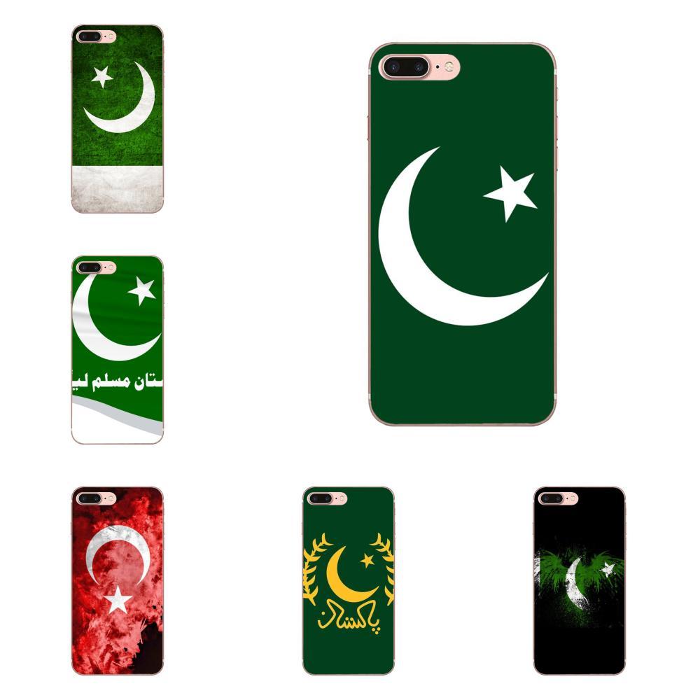 Pakistán bandera para Sony Xperia Z Z1 Z2 Z3 Z4 Z5 Mini compacto M2 M4 M5 T3 E3 E5 XA XA1 XZ Premium arte caliente impreso fresco teléfono caso