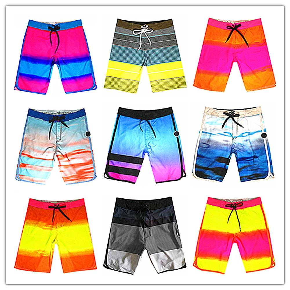 Venda quente 2019 Marca Fantasma Homens Placa Praia Curto Beachwear Maillot de Bain Swimwear 100% Quick Dry Elásticas Bermuda Masculina