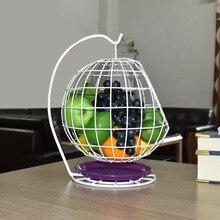 Panier de fruits en forme de comptoir   Panier de fruits domestique en métal panier de fruits noir Style créatif panier de rangement