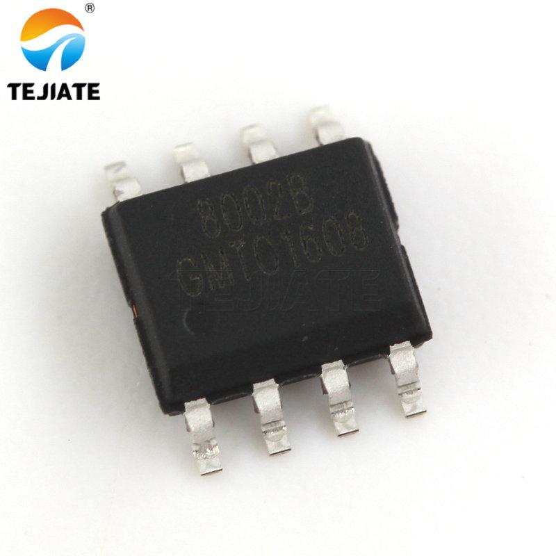 20 piezas CKE8002B 8002B 8002A 8002 NS8002 SOP8 parche 3W AMPLIFICADOR DE POTENCIA DE AUDIO IC chip