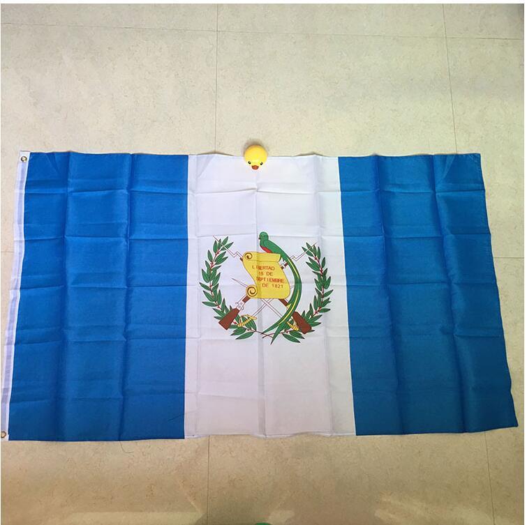 Фото - free  shipping  xvggdg  90x150cm Guatemala   flag 3x5 Feet Super Poly football FLAG Indoor Outdoor Polyester Flag football 32 country flag string