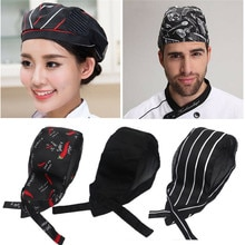 Chapeau de crâne de serveur   Divers chapeaux de cuisinier, chapeaux de cuisine de Restaurant, chapeaux de Chef, tabliers de traiteur