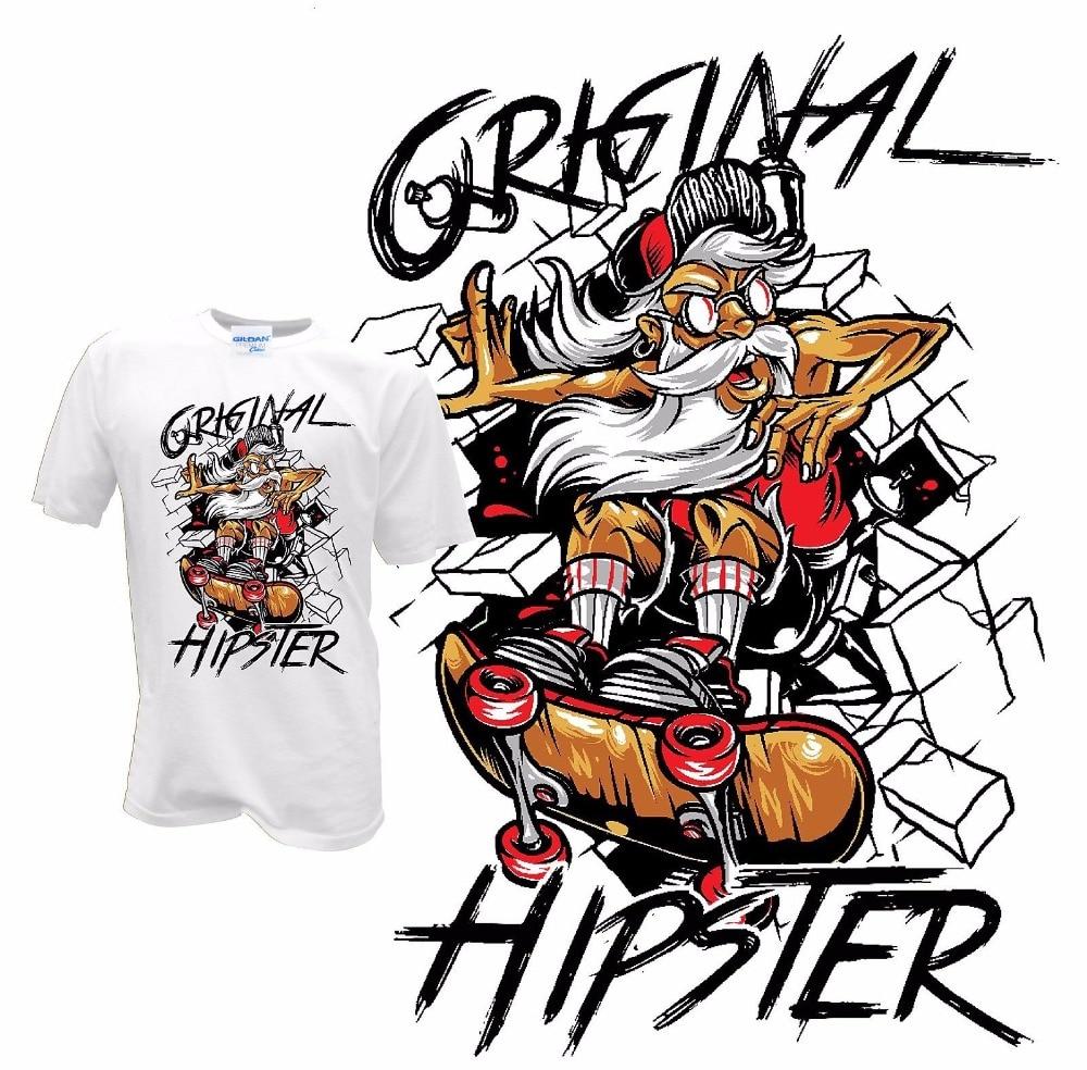Мужская футболка, модная футболка для скейтборда, 1117