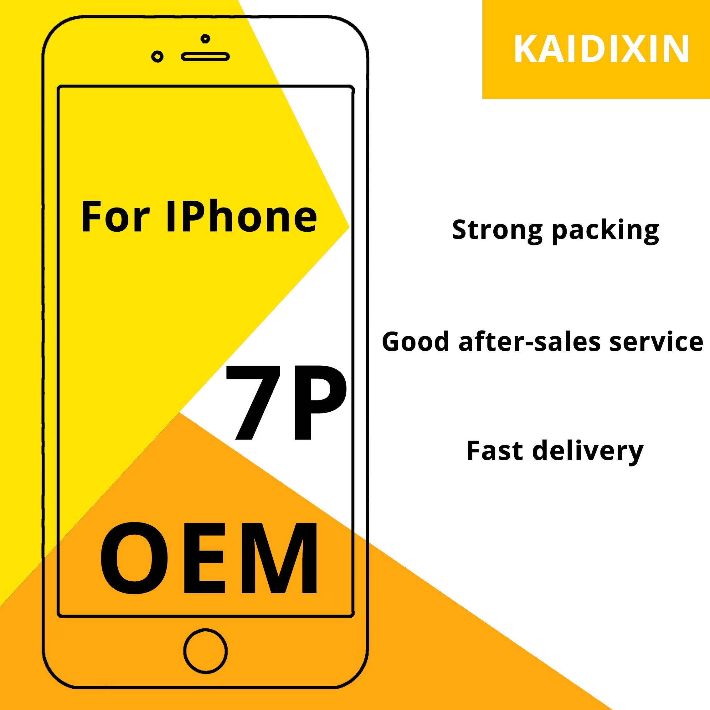 Calidad OEM AAA + + + para iPhone 7P LCD 100% sin píxeles muertos pantall para iPhone 7P montaje digitalizador de pantalla herramientas de repuesto gratis