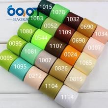 OOOT BAORJCT 173302   Ruban en gros-grain de couleur unie 25mm 10 yards, accessoires de vêtements faits à la main, bijoux et accessoires de bricolage