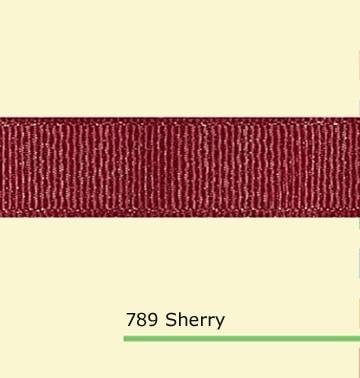 7/8 pulgadas (22mm) plata brillo impreso Sherry grosgrain cintas