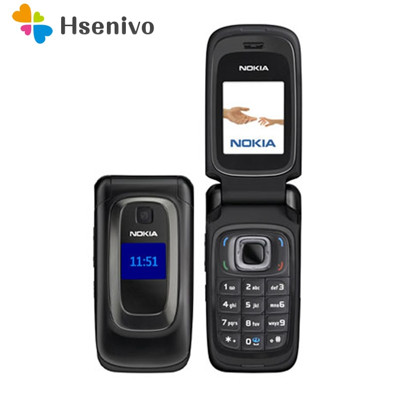 نوكيا 6085 تجديد الأصل نوكيا 6085 الهاتف المحمول 2G GSM مقفلة الوجه الهاتف المحمول