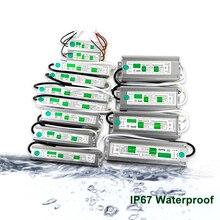 LED transformateur de pilote AC 110V 220V à 12V 24V 10 W-150 W adaptateur dalimentation étanche pilote de lampe LED électronique IP67 JQ