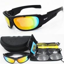 Daisy Polarized Tactical glasses C6 Military Goggles Army Sunglasses With 4 Lens Men Shooting Eyewea