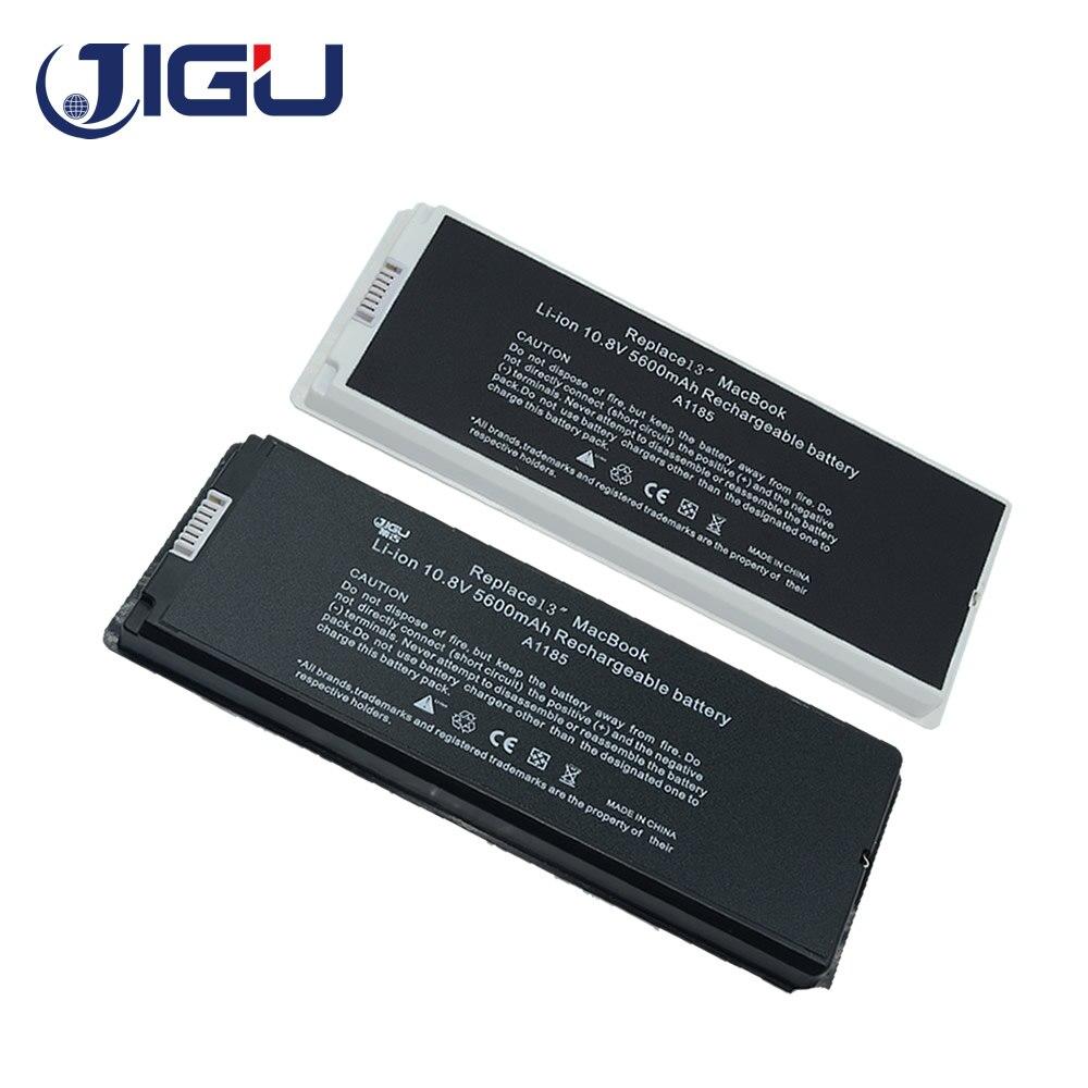 "Jigu bateria para apple macbook 13 ""branco mac a1185 a1181 ma566fe/a mb881ll/a branco 55wh"