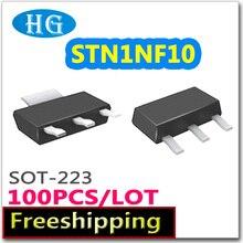 smd STN1NF10 100PCS 1000PCS SOT223 N-channel 100V 1A pdf inside mosfet