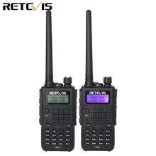 Рация Retevis RT5, 7 Вт, 2 шт., два диапазона VHF + UHF 136 174 + 400 520 МГц, Любительский радиоприемник, Scan VOX A9108