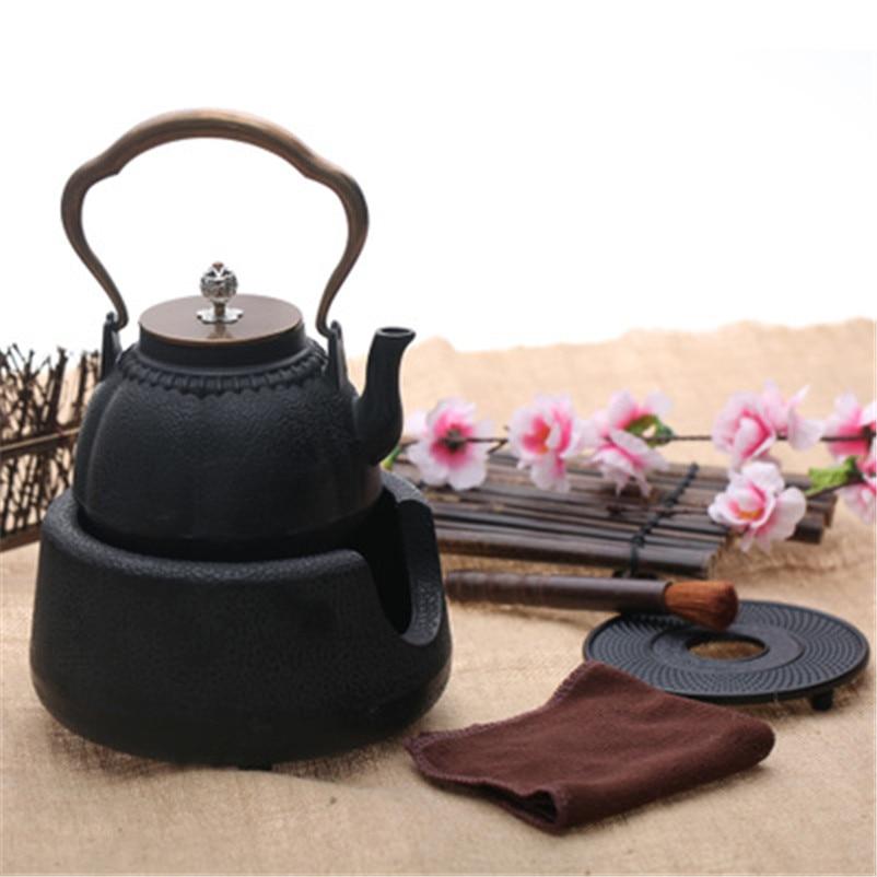 XMT-HOME الشاي موقد سخان الصب مجموعة براريد للشاي الموقد charocal فرن الرجعية الشاي دفئا 1 قطعة