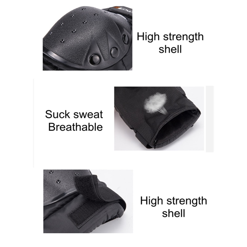 LMoDri 4Pcs Motorcycle Knee Pads Guards Sport Motocross Protection Roller Skating Elbow Knee Protector enlarge