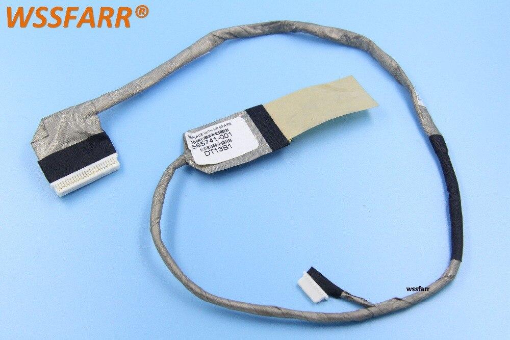 Original ordenador portátil pantalla LED/LCD/LVDS felx CABLE para HP EliteBook 8540p 8540w DC02000RX00 DC02000RX10 KAQ00 100% probado OK