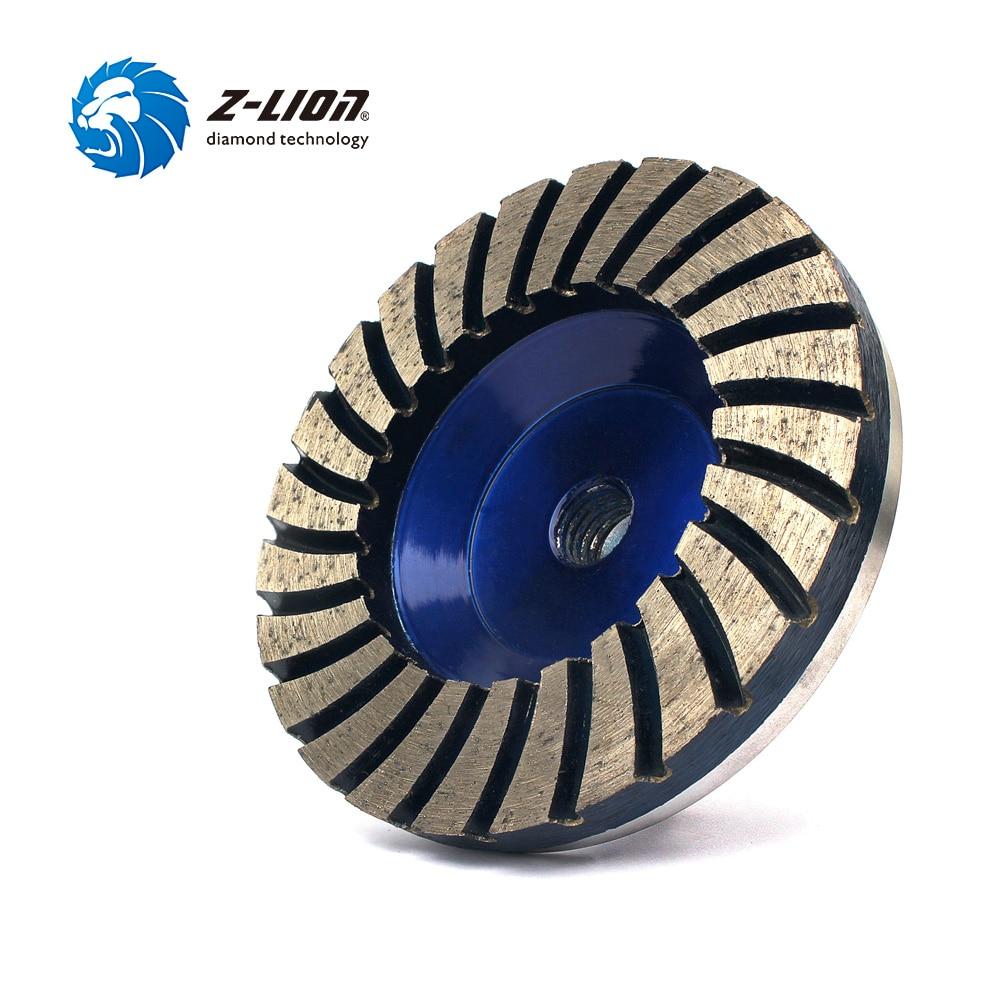 Алмазная турбошлифовальная чаша, шлифовальный диск для Бетонного Пола, гранита на алюминиевой основе, 4