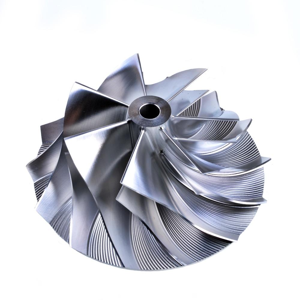 Rueda de compresor Kinugawa Turbo Billet 71/99. 01mm 7 + 7 rendimiento para Holset HX50