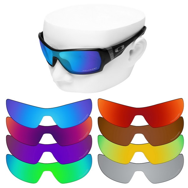 OOWLIT Anti-Scratch Replacement Lenses for-Oakley Offshoot OO9190 Etched Polarized Sunglasses