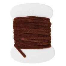 3.0m vers rayonne fil Tinsel Chenille soie ligne 8 couleurs fil laineux Bugger nymphe mouche attachant matériaux