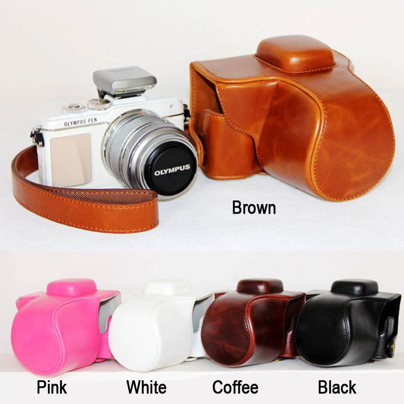 pu Leather Hard Camera case bag for OLYMPUS Pen E-PL7 EPL7 E-PL8 EPL8 EPL9 E-PL9