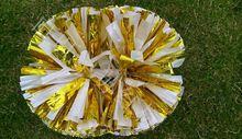 2 pièces pompe pompons cheerleaders basket paire cheerleading 40 cm