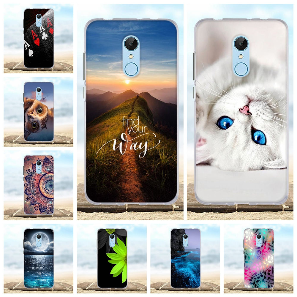 Für Fall Xiaomi Redmi 4A 5 5A 6A Silikon TPU Abdeckung Für Xiaomi Redmi 5 Plus 5 plus Fall Für xiaomi Redmi 5 Plus Redmi5 Telefon Fall