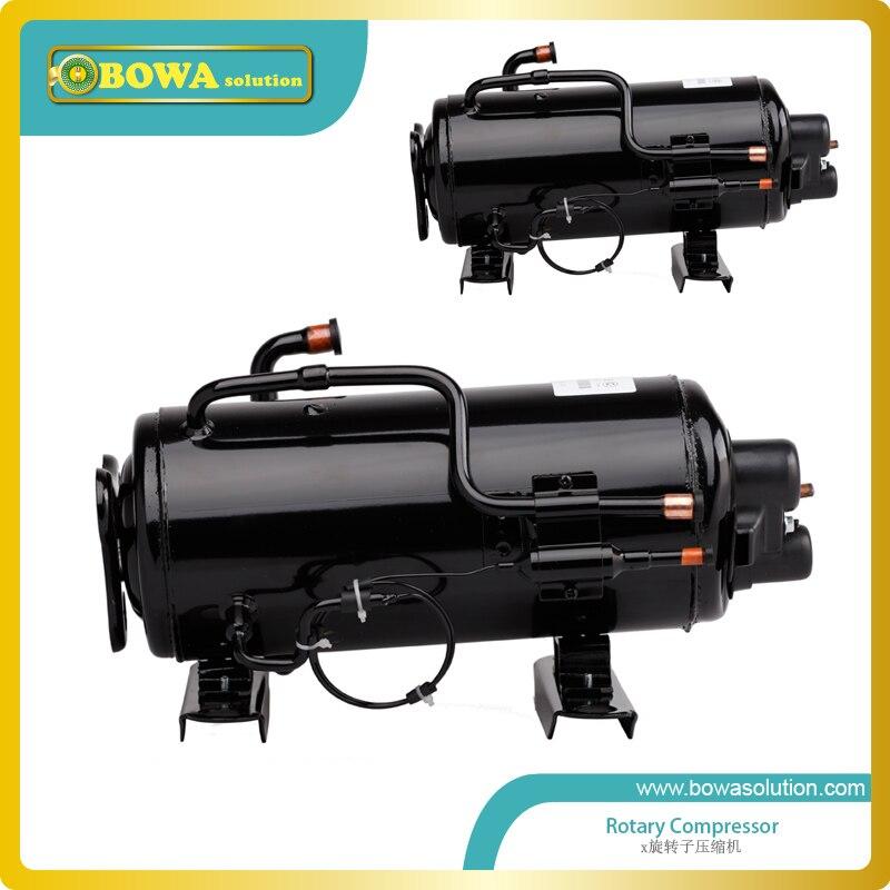 Compresor de refrigeración Horizontal de 1 hp para máquina secadora de aire