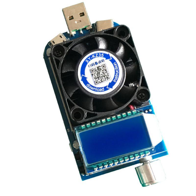 Kz35 inteligente gatilho eletrônico usb carga rápida tester para qc2.0/qc3.0/afc/fcp