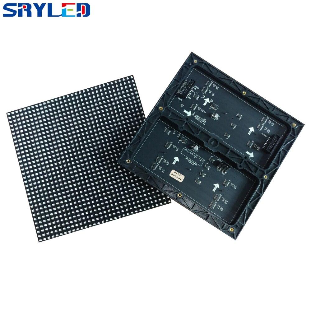 Hoge Verversingsfrequentie Indoor P6 RGB SMD3528 Volledige Kleur 32x32 Pixels LED Module 192x192mm voor P6 spuitgieten Aluminium Kast