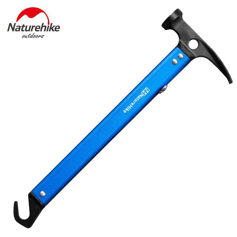Naturehike Outdoor multifunction engineering shovel hook hammer aluminum camping Survival equipment life-saving multi tool