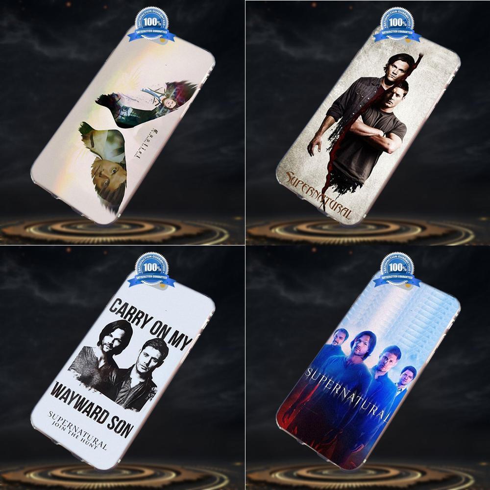 Castiel Winchester sobrenatural Linda funda de teléfono para Xiaomi Redmi 5 4A 3 3S Pro mi 4 mi 4i mi 4C mi 5 mi 5S mi Max Mix nota 2 3 4 Plus