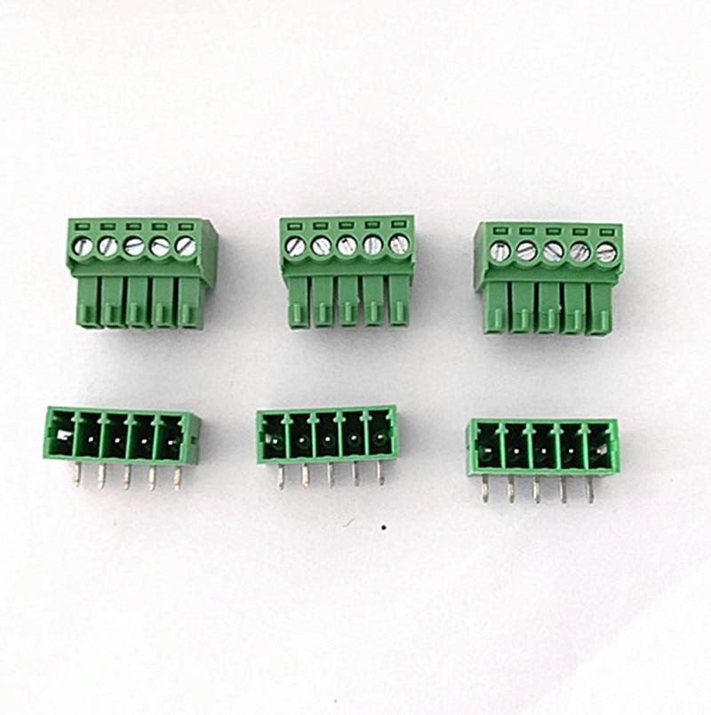 Conjuntos de Plug-in terminal block KF2EDGK-pitch 10 3.5 MILÍMETROS 2 P 3 P 4 P ~ 10 P Phoenix terminal curvo agulha assento