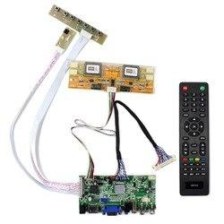 Hd mi vga 2av usb placa de controlador de áudio lcd para 21.5 polegada 1920x1080 LM215WF1-TLA1 LM215WF1-TLB1 m215hw01 v0 tela lcd