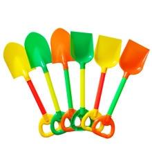 1pc Beach Toy Shovels Kids Play Sand Shovel Snow Tools Summer Seaside Dig Sand Shovel Soil Water Toys